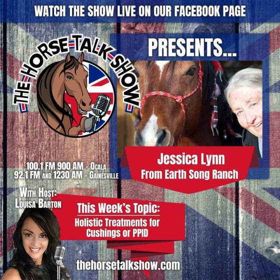 Earth Song Ranch natural & herbal products are featured on Fox's Horse Talk Show with Louisa Barton