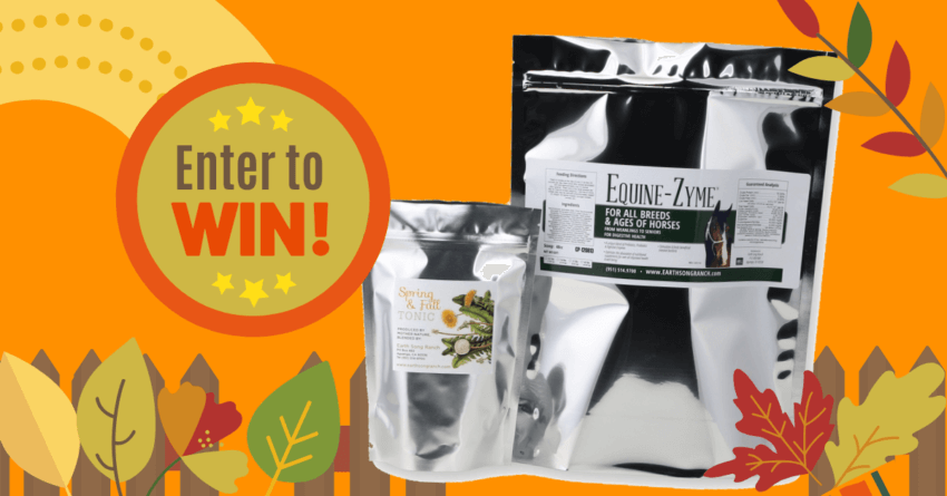 Enter to Win Probiotics & Herbal Blends for Horses