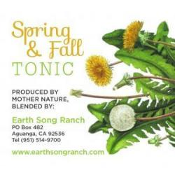 Spring and Fall Tonic